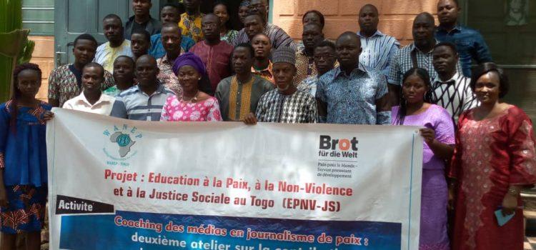 Atelier de Coaching des médias en journalisme de paix