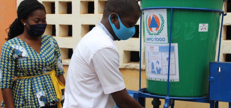 WANEP-Togo contribue à la riposte au covid19 en milieu scolaire.
