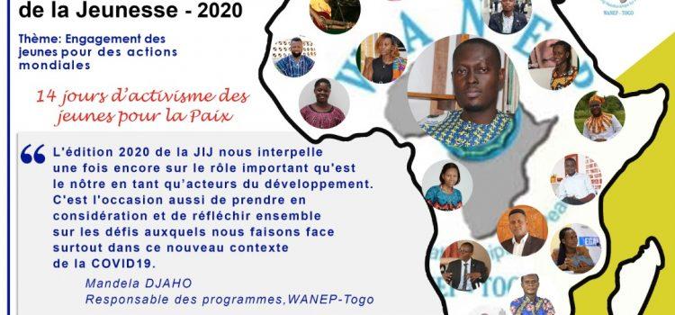 JIJ-2020, WANEP-Togo mobilise pour plus d'actions en faveur de la jeunesse.