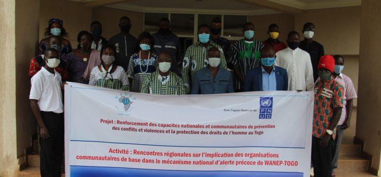 WANEP-Togo implique les organisations communautaires de Base dans son mécanisme d'alerte précoce.