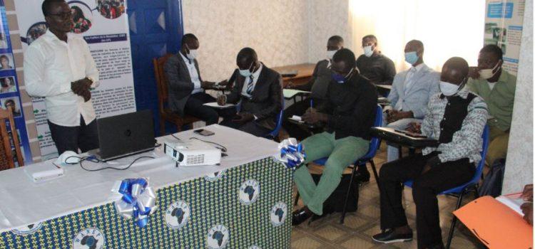 Formation des jeunes leaders d'association. Crédit WT